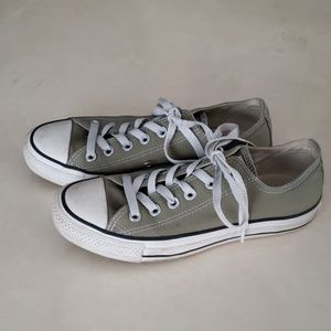 Converse classic sage green sneakers W7